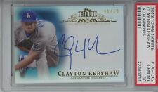 2013 Topps Tribute Autographs #TA-CK2 Clayton Kershaw Auto PSA 10, Pop 1