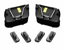 SET OF 4 CLIPS TO ATTACH PANNIER BAGS / SADDLBAGS TO SUPPORT BRACKETS  (02-210)