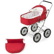 Brio 24891107–Passeggino per bambole, colore: rosso (n2a)
