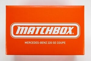 2021 Matchbox Mattel Creations Mercedes-Benz 220 SE Coupe SILVER / SEALED BOX