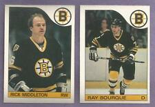 1985-86 OPC O-PEE-CHEE Boston Bruins Team Set