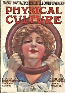 Vintage Weightlifting-Bodybuilding  PHYSICAL CULTURE MAGAZINE-March,1911
