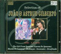 Joao & Astrud Gilberto - Selection Of Gilberto Deluxe Gold 2x CD Perfetti