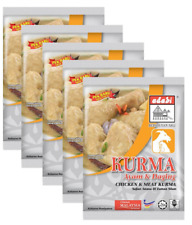 5 Packets Adabi Chicken & Meat Kurma 24gm Original Malaysia 100% Halal