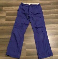 Koi By Kathy Peterson Women's Scrub Cargo Pants Size X-Large Purple. Nice
