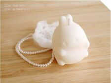 Molang Candle Cozy Life WIth Handmade - COLOR PURE WHITE, SCENT BLOOMING HILLS