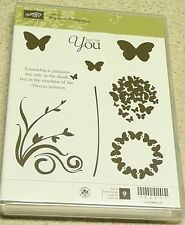 Stampin' Up! Clear Mount Stamp Hostess Set Precious Butterflies (set of 9) BNIB