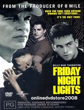 FRIDAY NIGHT LIGHTS (Billy Bob THORNTON Derek LUKE Jay HERNANDEZ) DVD NEW Reg 4