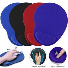 Soft Ergonomic Comfort Support Mouse Pad Mat Computer PC Laptop With Wrist Rest