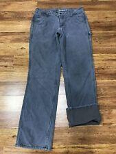 WOMENS 6 - Carhartt 102213 Fleece Lined Crawford Pants