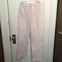 Gloria Vanderbilt Amanda Jeans Size 6 Pink Average Length Womens
