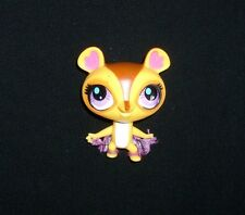 2397 LITTLEST PET SHOP BABY TAN BROWN SUGAR GLIDER PURPLE BLUE EYES 2011 LPS