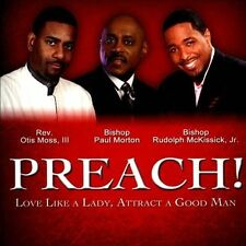 Preach!-Love Like A Lady Attract A Good Man [CD New] FREE SHIPPING!!