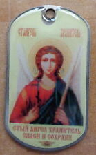 RUSSIAN DOG TAG PENDANT MEDAL  icon   ARCHANGEL ANGEL  314 SE