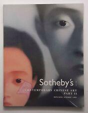 Sotheby's Contemporary Chinese Art YUE MINJUN CAI GUO QIANG WANG GUANGYI