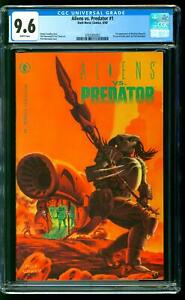 Aliens vs. Predator 1 CGC 9.6 NM+ 1st app Machiko Noguchi Dark Horse 1990