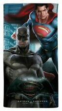 Telo mare spugna di cotone 100% Caleffi Batman-Superman Marvel  mare piscina