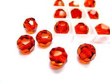 Genuine Swarovski Elements Crystal Round 6pcs Beads Colours 8mm Size ref:5000