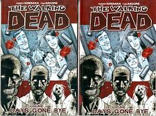 The Walking Dead  Lot of 6 books #'s 1-5, 1 is a double  NM