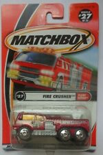 Matchbox 2001 FLAME EATERS Fire Crusher 27/75