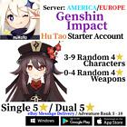 [America/NA/Europe/EU/Asia/AS] Genshin Impact Hu Tao Starter Account