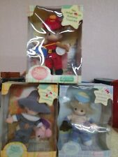 "3 Precious Moments ""Luv n' Care""  Baby Collection Drummer, Pilgrim, Baseball new"