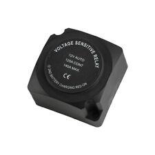 Dual Battery Isolator - 12V 140 Amp Voltage Relay Cable Kit,Vsr for Utv Atv Suv