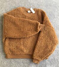 Ladies GAP Soft Fleece Teddy FashionTop Jumper/sweatshirt/pullover Size Medium