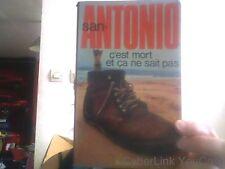 San-Antonio pour C'est mort et ca ne sait pas