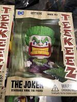 NEW Cryptozoic Teekeez The Joker Stackable Vinyl Tiki Figure Series 1 DC Comics