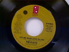 "O'JAYS ""LET ME MAKE LOVE TO YOU / SURVIVAL"" 45"