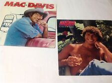 Mac Davis Vinyl 33RPM 2 Albums Hard To Be Himble, Inmy Rear View Mirror