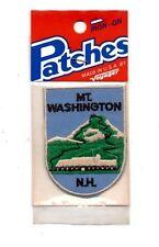 Mt. Washington NH Voyager Travel Souvenir Patch - Brand New - Free Shipping!