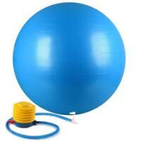 Anti-Burst Diameter Exercise Balance Stability Fitness Yoga Ball Foot Pump Gift