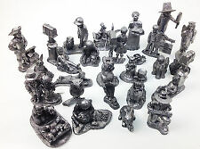 Michael  Ricker  pewter figurine collection of 26 pieces