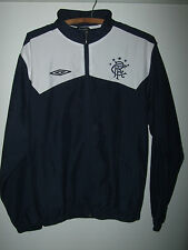"New without tags Glasgow Rangers Veste Homme Taille S Tour de Poitrine 38"" 40"" formation marine"