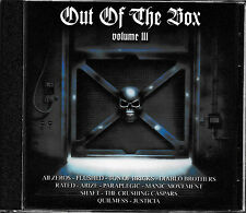 Out of the Box III-Flushed, All zeros, Sons of Bricks, Rated/METAL CD/NEUF + Comme neuf