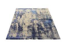 Musterring Wave Arte 924 grau-blau Designer Teppich