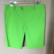 NWT RLX Ralph Lauren Golf Shorts Vibrant Lime Green Size 2  Awesome!