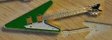 2012 Somalia color $1 Guitar-Green Arrow-like Gibson Flying V