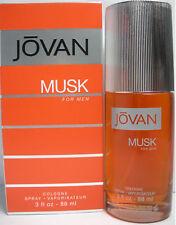 Jovan Musk by Jovan 3.0 oz Cologne Spray for Men New in Box