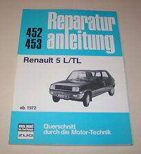 Reparaturanleitung Renault 5 L /  Renault 5 TL - ab 1972!