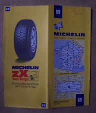 carte MICHELIN 69 BOURGES - MACON 1962
