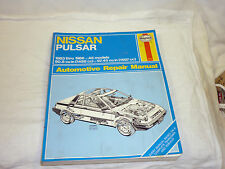 1983 1986 Nissan Pulsar 1500 and 1600 Cars Haynes Manual in Excellent Condition