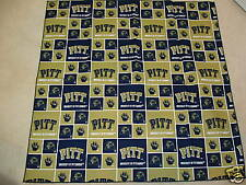 University of Pittsburgh Panthers Fabric Bandana Dog/Pet or YOU! NEW