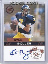 2003 Press Pass Football  Kyle Boller Bronze Casl State Rookie Autograph Card