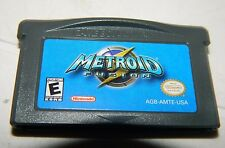 Metroid Fusion (Nintendo Game Boy Advance) GBA good