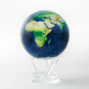MOVA Globe/Globus, Natürliche Erde, Solar powered, drehend/spinning, 4,5 Zoll