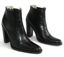 FREE LANCE Bottines talons 10.5 cm plateau cuir noir 35 --> 36 COMME NEUF