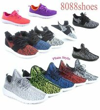 Women's Two Style Flat Light Weight Sport Sneakers Running Shoes Size 5 - 10 NEW